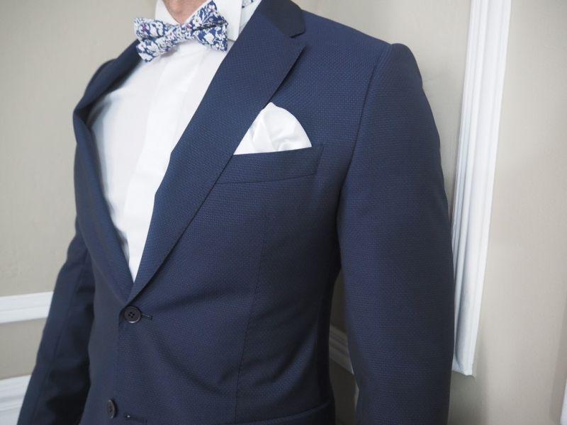 9e5c68da5dd Costume Armani Collezioni bleu piqué - Viktör Concept Homme
